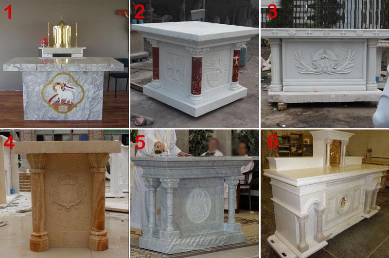 marble altar design