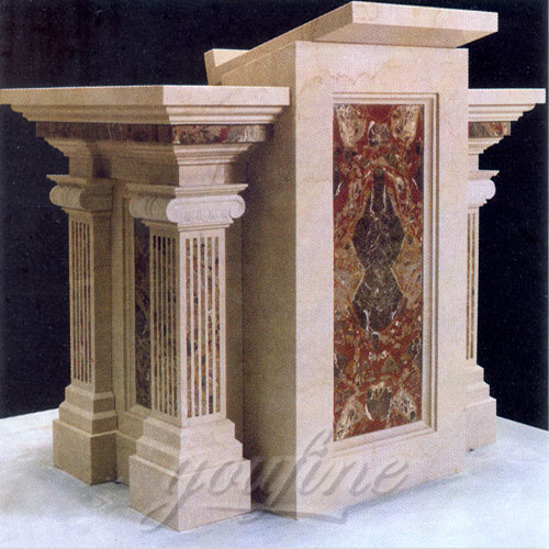 2018 Direct Factory Religious Marble Catholic church Pulpit for sale