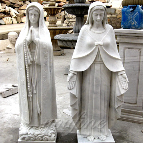 2017Directly Factory Marble Statue of the Blessed Virgin Mary Statue for Sale