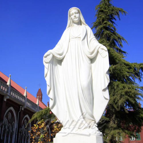 Catholic Virgin Mary Religion Garden Statues of Our Lady of Grace 5.6 Foot sale