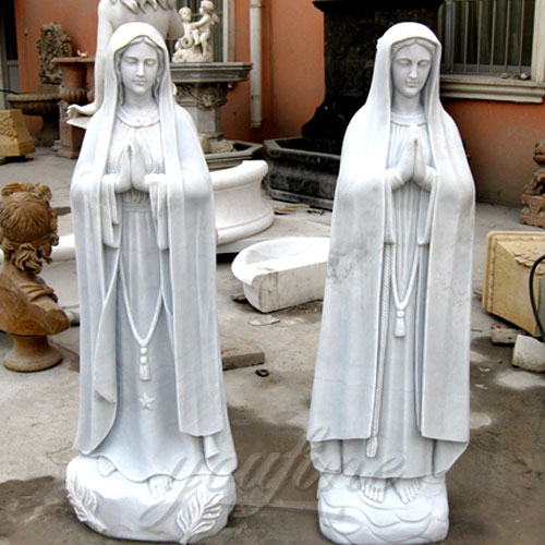 Directly Factory Religious Statues of the Blessed Virgin Mary Sculptures 5.2 Foot for Sale