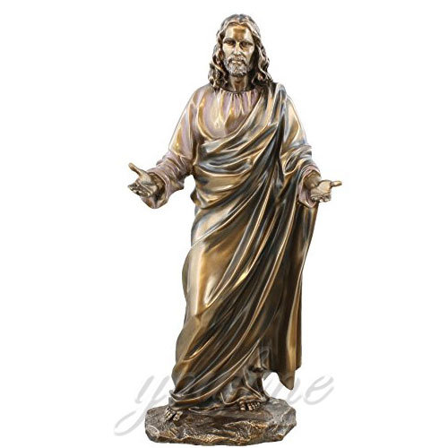 Factory supplier Bronze statues of Jesus near to me