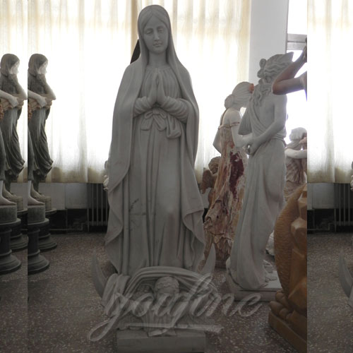 Famous Design Blessed Virgin Mary Outdoor Religious Statues for Sale