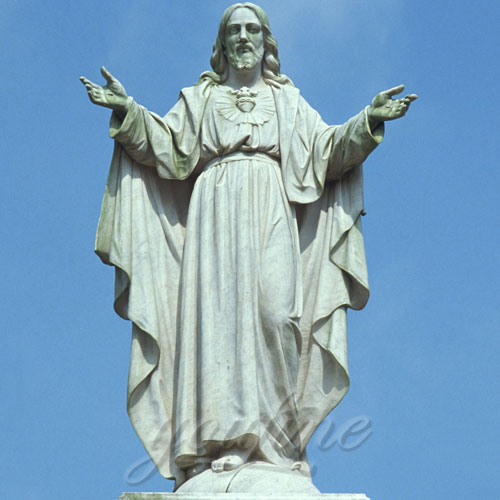 Christ Religious Marble Garden Decor Largest Jesus Statues in the World for Sale