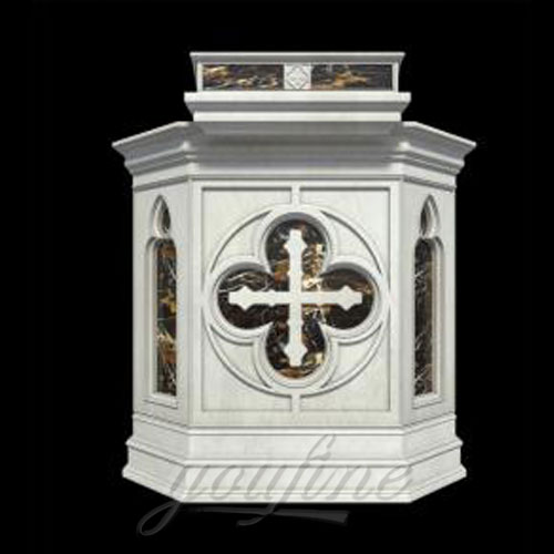Hot Sale Religious catholic statues of Luxury Marble church Pulpit in stock