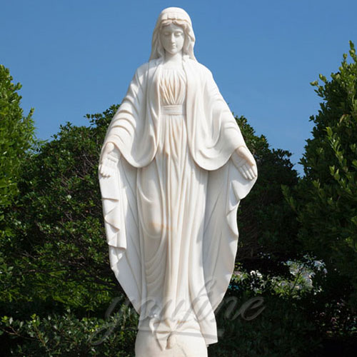 Religious Virgin Mary Statues of Our Lady of Grace church design
