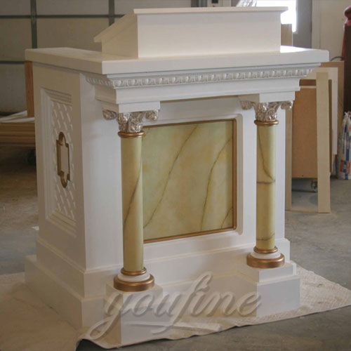 Religious statues of marble catholic church  pulpits furniture for Sale