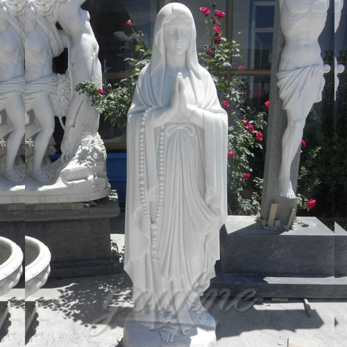 Blessed mother statues of Our Lady of Lourdes for outdoors
