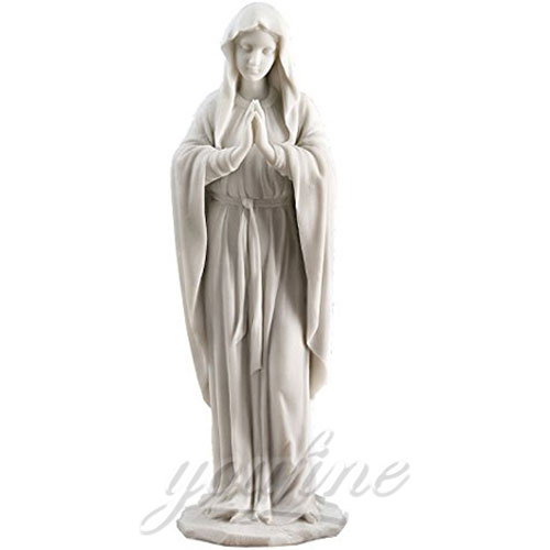 Catholic garden statues of blessed mary 5.2 Foot for sale