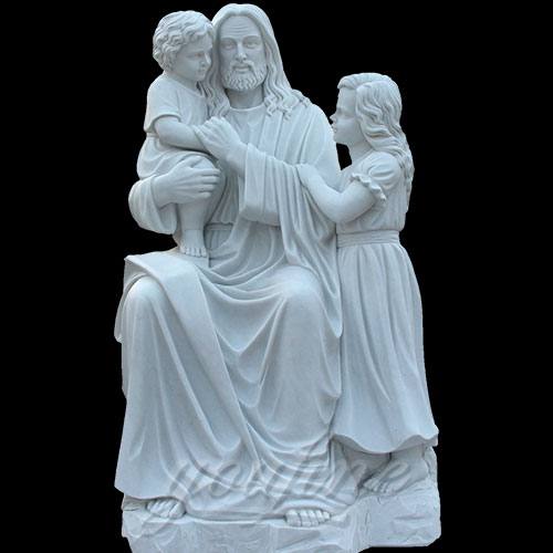 Popular Designs Catholic Statues of Garden Jesus Statue and Child on Discount