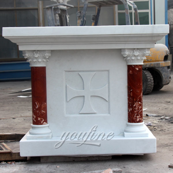 Customized church marble altar decoration for Australian clients