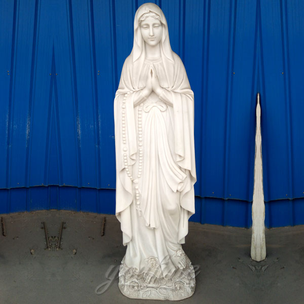 Catholic religious statues of blessed virgin mary garden sculptures for sale