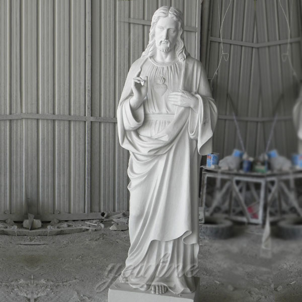 Church decor religious statues of sacred heart jesus christ for sale