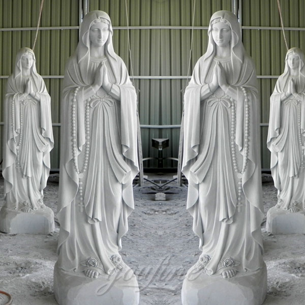Church outdoor religious blessed mother statues 67 inches on sale
