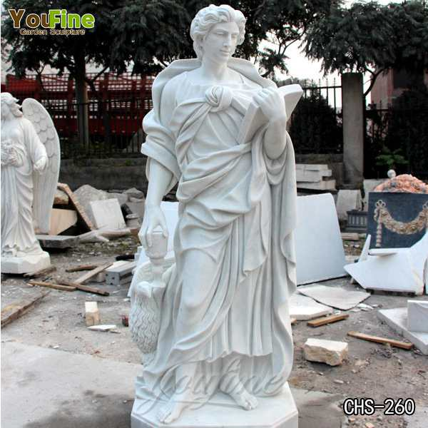 High-polished Church Marble Religious Statues of St. John for Sale CHS-260