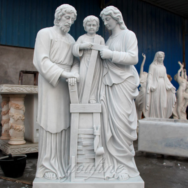 Holy family of mary joseph and baby jesus garden statues 170cm on discount