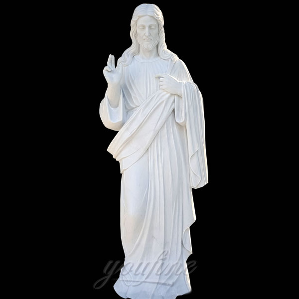 Large jesus religious garden statues around the world on discount
