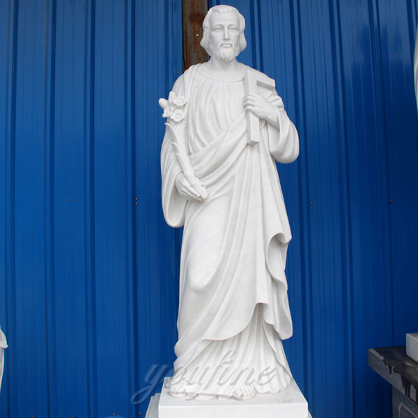 Life size religious St.Joseph sculptures for church interior decor