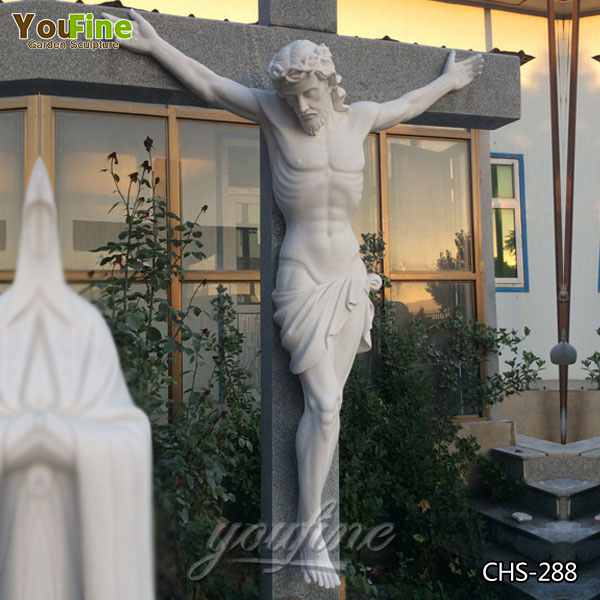 Religious Garden Statues of Catholic Crucifix Cross Jesus on the cross Supplier CHS-288