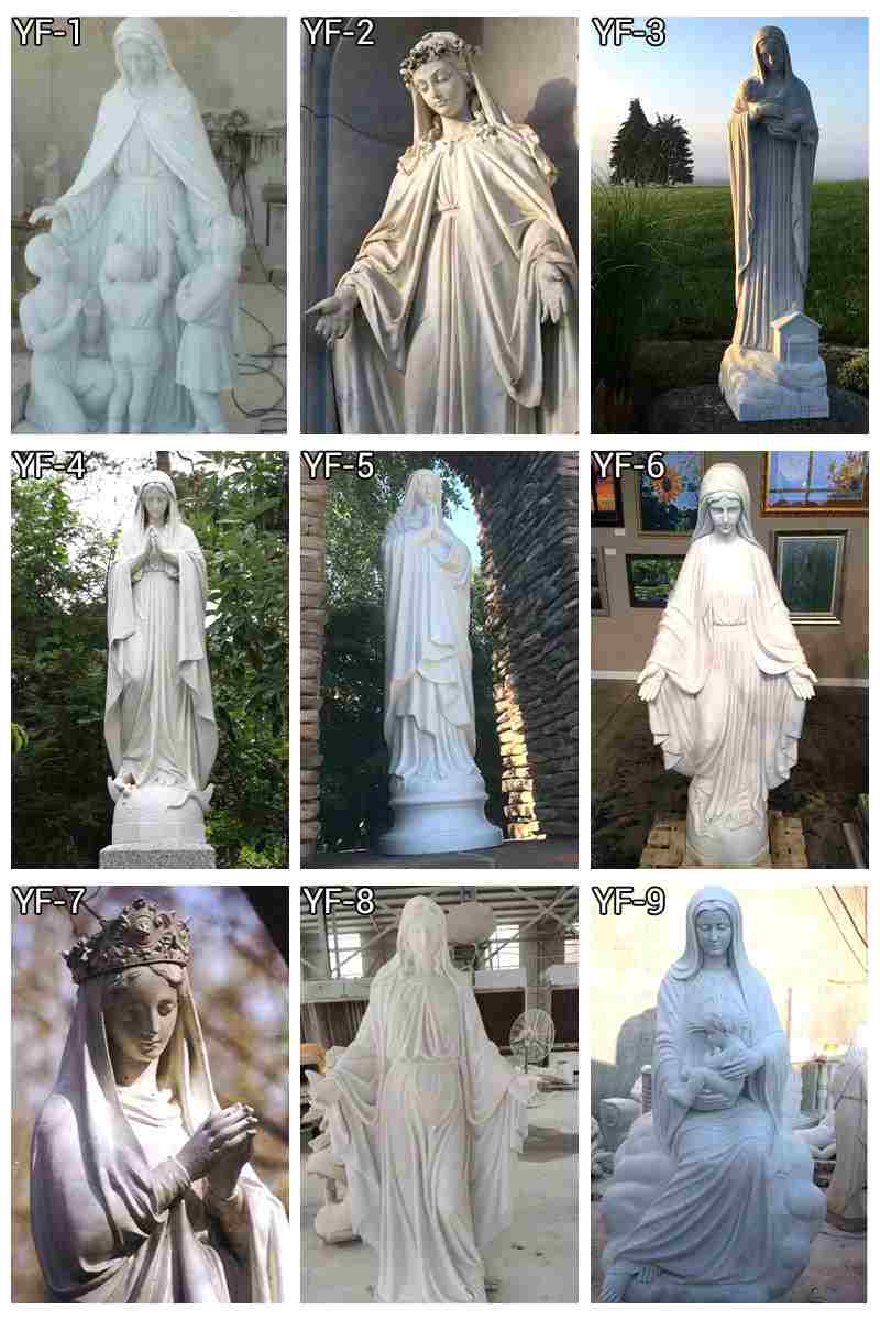 Religious Marble Michelangelo Pieta Statue