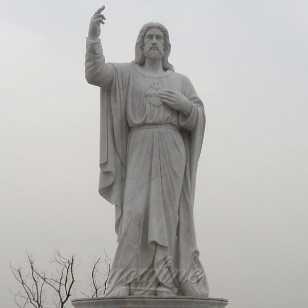 Religious garden statues of giant jesus for church outdoor decor sale
