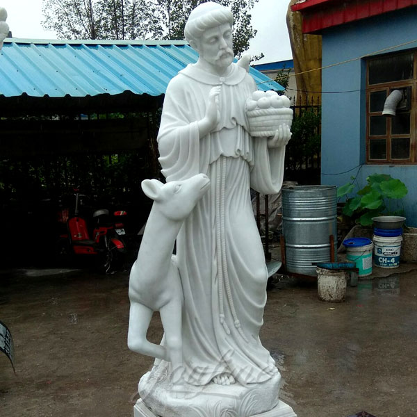 Religious holy statues of St. Francis for sale