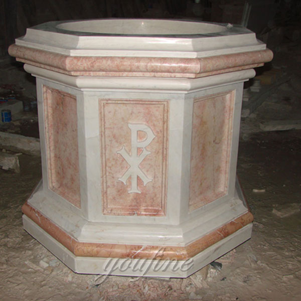 Religious church statues of holy water font to buy