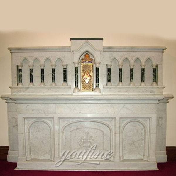 Church religious statues of luxury marble altar suppliers