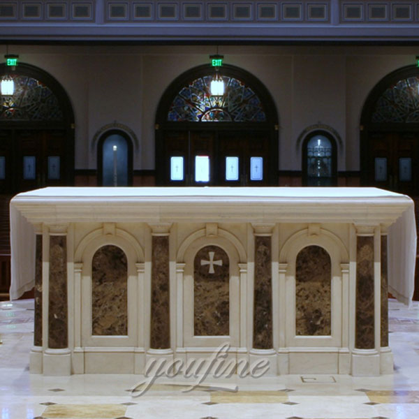 Religious church luxury antique marble ambo wholesale