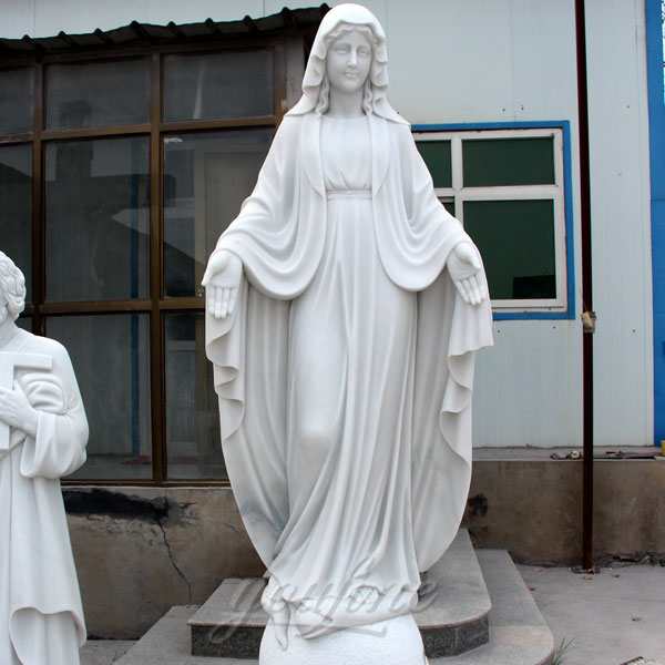 Outdoor religious statues of our lady grace church mother mary 63 inches on discount