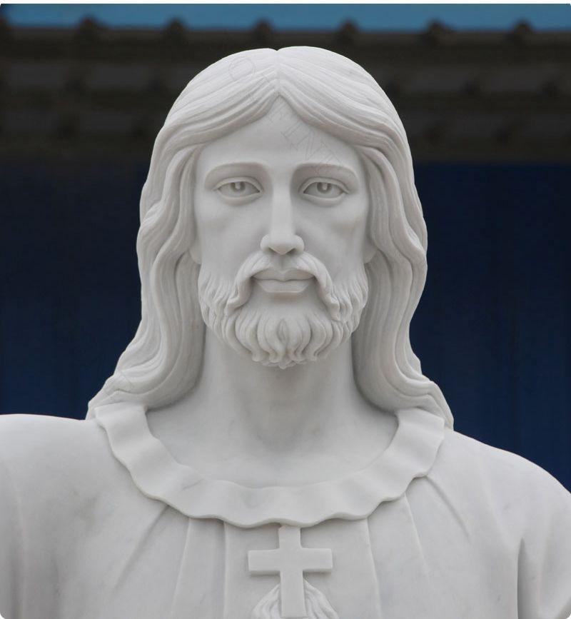 Religious Jesus Christ Marble Statue Religious
