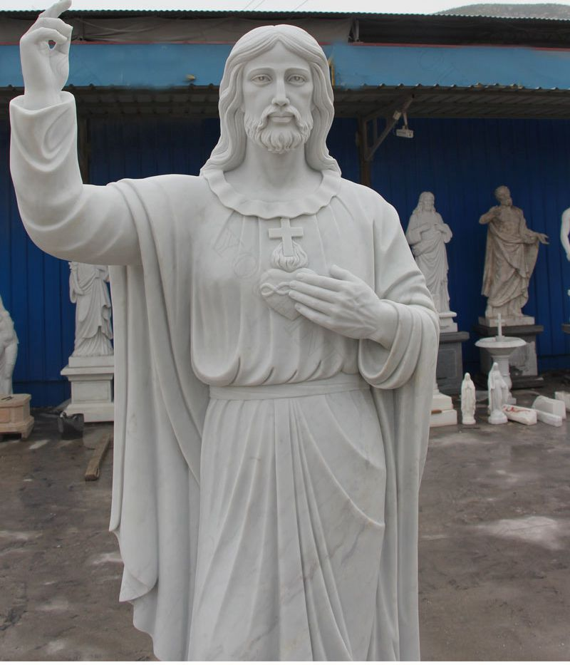 Religious Jesus Christ Marble Statue for Sale