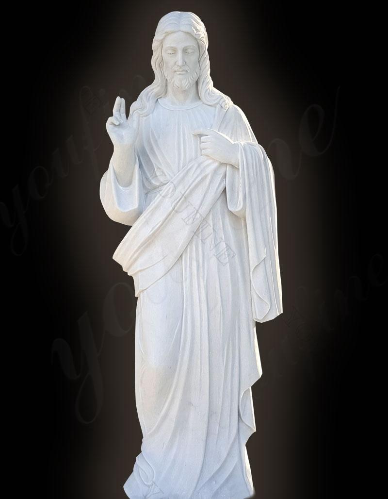 jesus garden statue
