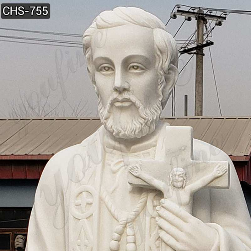 Best Quality White Marble St Peter Statue for Garden Suppliers