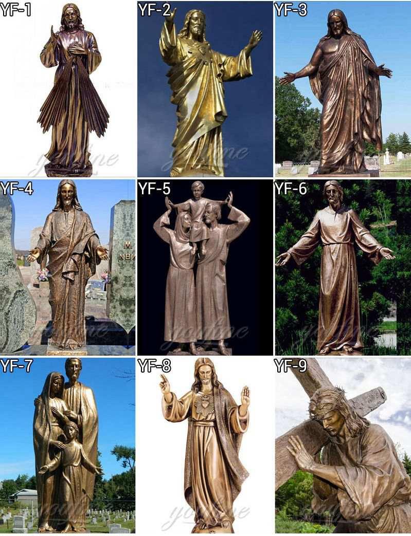 Best Price Famous Pieta by Michelangelo Bronze Sculpture Online BOKK-612