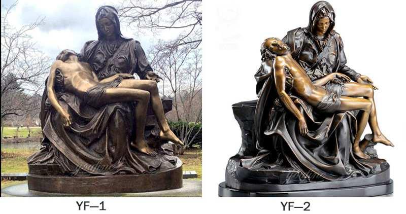 Best Price Famous Pieta by Michelangelo Bronze Sculpture Online