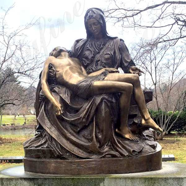 Best Price Famous Pieta by Michelangelo Bronze Sculpture Online BOKK-612