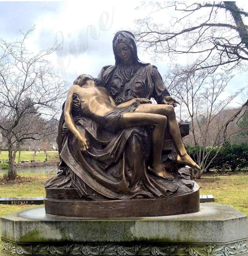 Price Famous Pieta by Michelangelo Bronze Sculpture Online