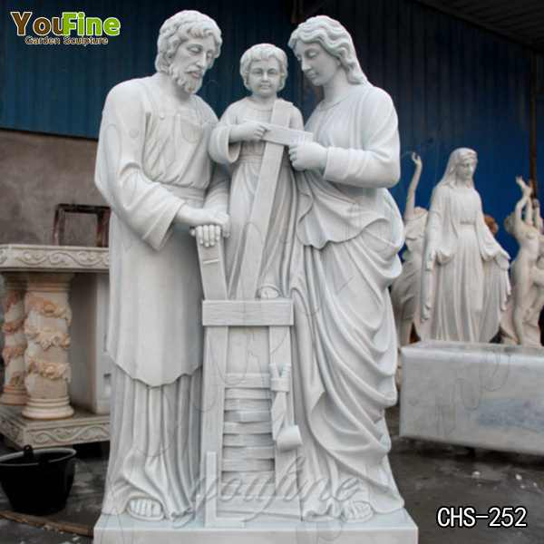 Customized Size High-quality Religious Marble Saint Paul Statue Online CHS-250