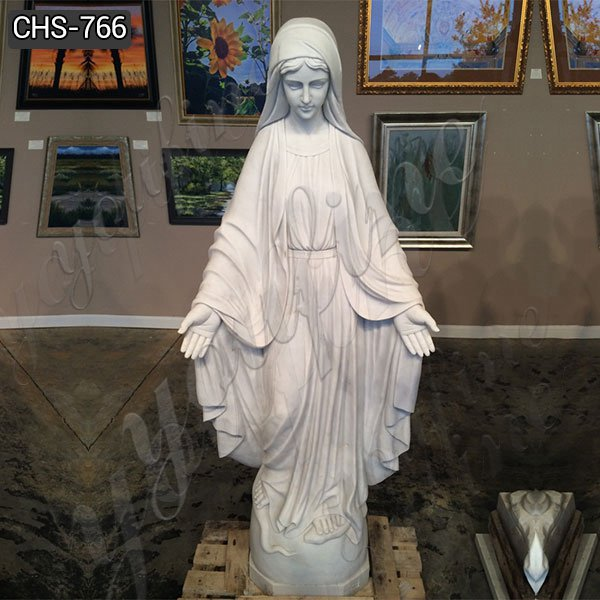 Life Size Outdoor Religious Marble Our Lady of Grace Statue Wholesale CHS-766