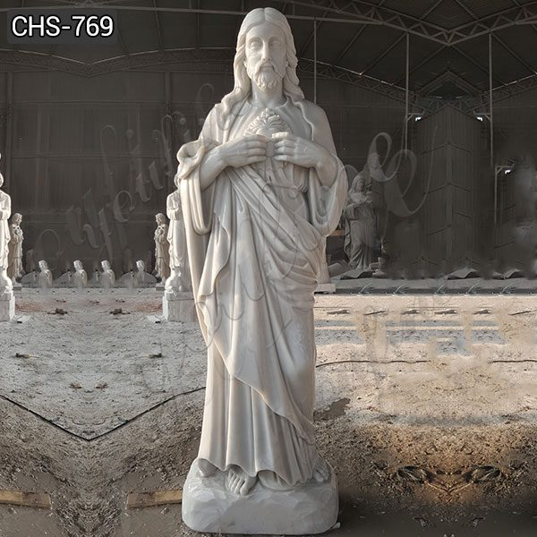 Religious Ornamental Marble Life Size Jesus Statues for Sale CHS-769