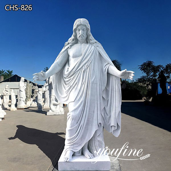 Life Size Marble Jesus Statue Church Decoration for Sale CHS-826